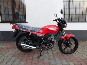 BARTON FIGHTER EURO 4  - 50 cc motorower